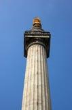 火整个大伦敦纪念碑 库存照片