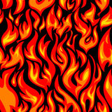 火无缝的结构 库存图片