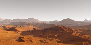 火星土壤  免版税库存图片