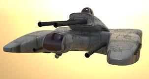 火星starship 免版税库存照片