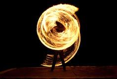 火显示 图库摄影