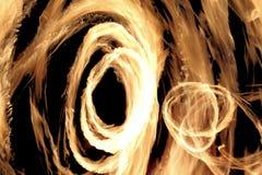 火显示 免版税库存图片