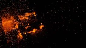 火本质上 从火的Bokeh 股票视频