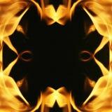 火框架 库存照片
