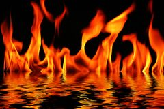 火水 库存图片