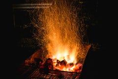 火火炉 库存图片