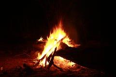 火火焰炭烬烧伤 免版税库存图片