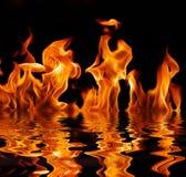 火火焰 免版税库存图片