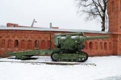 火炮军事历史博物馆  库存图片