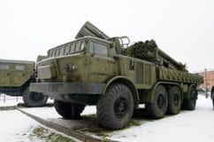 火炮军事历史博物馆  库存照片