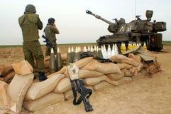 火炮军团-以色列 免版税图库摄影