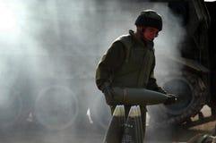 火炮军团-以色列 库存图片