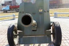 火炮枪管 库存照片