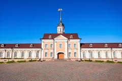 火炮法院,喀山克里姆林宫 免版税库存图片