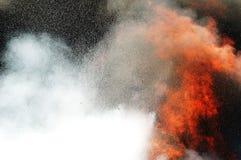 火烧伤 免版税库存图片