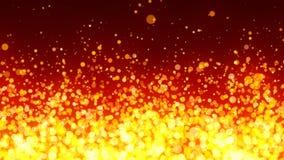 火热的微粒背景 免版税库存图片