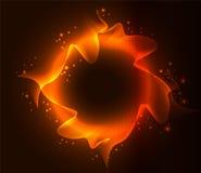 火热的抽象背景。 向量例证。 库存图片