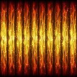火热的波浪线的明亮的热的无缝的样式App的,节目 库存图片