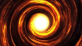 火热的漩涡、强的重力拉扯的气体和问题在黑洞附近打旋 皇族释放例证