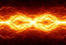 火热的闪电 图库摄影