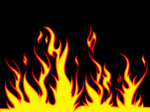 火热背景 向量例证