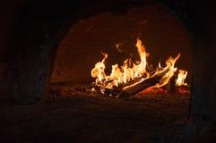 火焰和火 免版税库存图片
