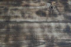 火焰处理木头的纹理 库存图片