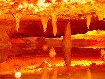 火焰河 库存图片