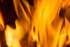 火焰火火焰纹理背景 免版税库存照片