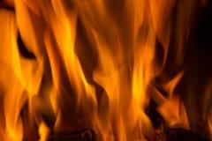 火焰火火焰纹理背景 免版税库存图片