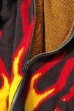 火焰状夹克 免版税库存照片