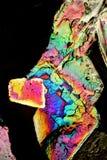 火焰状水晶 库存照片