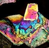火焰状水晶 库存图片