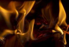 火焰,关闭 库存照片
