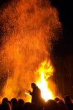 火焰 库存照片