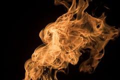 4火焰 免版税库存图片