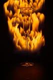 火玻璃 免版税库存图片
