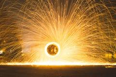 火球钢丝绒 库存图片