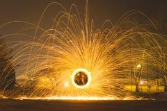 火球钢丝绒 免版税库存照片