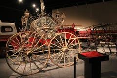 火用具的例子从第18,第19和20世纪全部与服务的历史在纽约,状态博物馆, 2015年 图库摄影