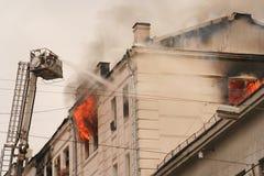 火的之家 免版税库存照片