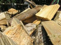 火的木柴 库存图片