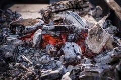 从火的热 图库摄影