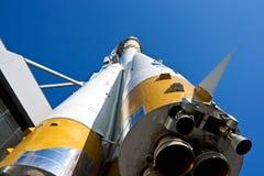 火箭俄语空间 免版税库存照片