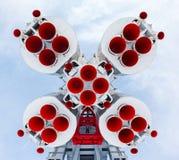 火箭发动机 免版税库存照片