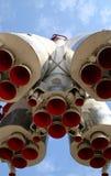 火箭喷管 库存照片