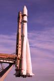 火箭空间起始时间 免版税库存图片