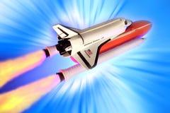 火箭空间 免版税图库摄影
