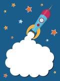 火箭空间 免版税库存照片