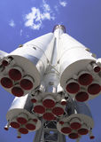 火箭队东部在蓝天 免版税库存照片